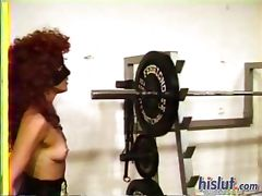 Julie is a redheaded mistress tube porn video