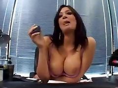 Obedient secretary Tori Lane tube porn video