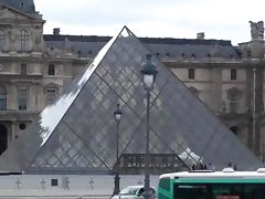 Hot public sex threesome in Louvre Paris in broad daylight Part 2 tube porn video