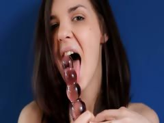 Amazingly tight analhole tube porn video