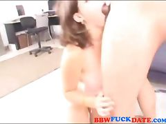 Amateur bizarre fatty gets anal and swallows jizz tube porn video