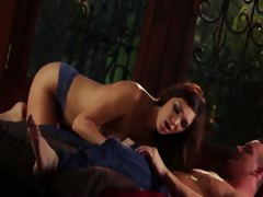 sweet brunette with seductively hot tits tube porn video