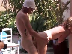 Amateur outdoor hardcore tube porn video