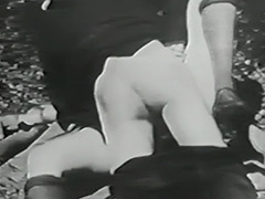 Mustached Boy Fucks 2 Young Petite Girls 1910 tube porn video