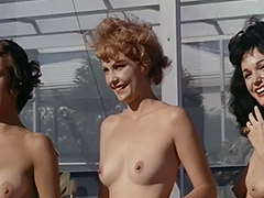 Nude Chicks Relax at a Nudist Resort 1960 tube porn video