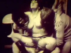 Three Boys Gangbang a Hairy Lady 1960 tube porn video