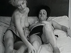 Mature and Granny Lesbians in Bed 1950 tube porn video