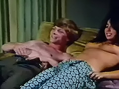 Young Couple Fucks at House Party 1970 tube porn video