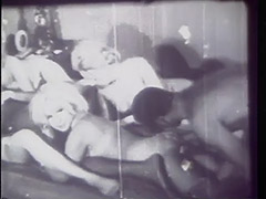 Black Cocks were Popular even in 60s 1960 tube porn video