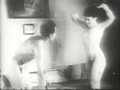 Happy Couple Spending Their Time in Bed 1940 tube porn video
