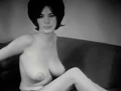 Young Busty Girl Dishes out Her Big Boobs 1960 tube porn video