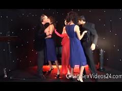 Tia Layne hot GangBang at TV Show tube porn video