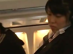 Young Woman groped and fucked in a business airliner tube porn video