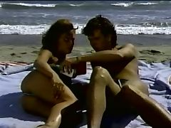 Barbara Dares SURF SAND and SEX tube porn video