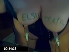 Matur Hucow Nipple Pumping tube porn video