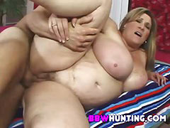 a delectable BBW MILF tube porn video