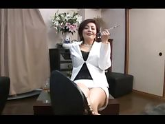 asian foot femdom smoking with cigarette holder tube porn video