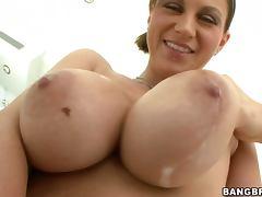 Huge Milky Tits Slut Sara Stone and Blowjob and Fucking tube porn video