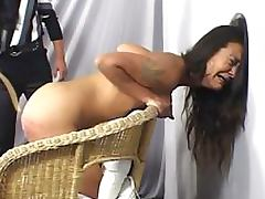 Nasty Babe Gets Spanked Extremelly Hard tube porn video