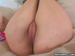 Amber Shows Her Cameltoe Before Riding A Big Cock tube porn video