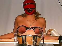 Sensory deprivation and pain for sub girl tube porn video