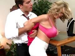 Busty Blonde Slut Katie Kox Loves Dominance Games and Rough tube porn video