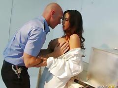 Busty Scientist Ariella Ferrera Loves Men In Uniform tube porn video
