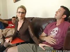 Double Penetrating Fun With The Sexy Blonde Babe Harmony Rose tube porn video