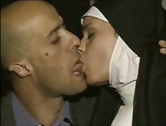 busty nun tube porn video