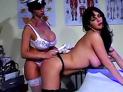 Naughty costume girls in lesbian ass play video tube porn video