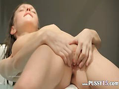 18yo skinny girl fingering in a jacuzzi tube porn video