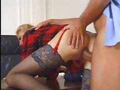Fucking the boss tube porn video
