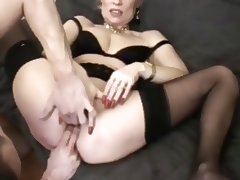 fist and gangbang for matures tube porn video