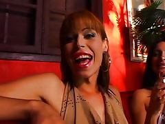 Sweet tranny cock pounding from behind tube porn video