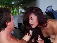 Beauty Kaylani Lei made love to in video tube porn video