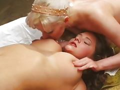 Old fashioned Russian lesbians tube porn video