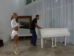 Piano videos. Could you imagine seeing as a lewd woman is being banged right on the piano