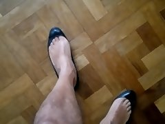 Cum in ballet flats heels and wife's shoes tube porn video