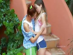 Romantic lesbo adventure from poland tube porn video
