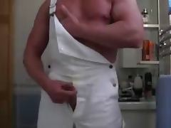 Muscle Daddy JO tube porn video