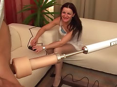 Radka Z sucks that horny dick with pleasure tube porn video
