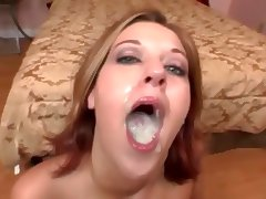 Cum swallowing tube porn video