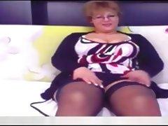 bbw pretty mature on webcam tube porn video