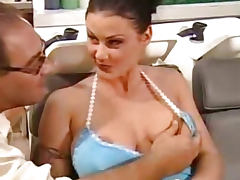 Italian wife ass fucked by a barber tube porn video