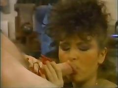 Vintage Brunette Red Long Nails tube porn video