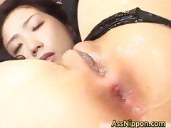 Hatsumi Kudo Hot Asian Babe Enjoys Some part5 tube porn video