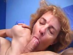 French hairy granny loves getting a fast anal drill tube porn video