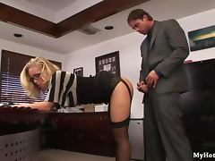 Nicole Aniston is an office secretary who has blo tube porn video