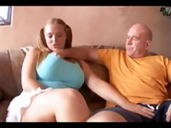 Old Man Puts The Pipe To Big Tit Pigtail Redhead Sierra tube porn video