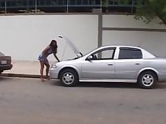 Roadside ASSistance Brazilian Style tube porn video
